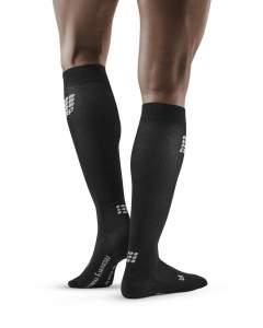 Merino Socks For Recovery black III men