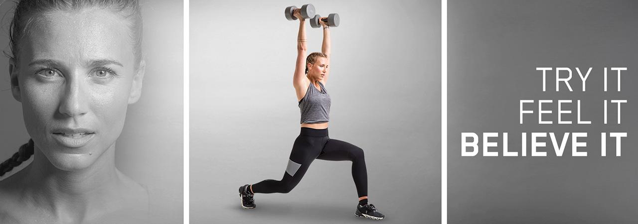 TRY IT. FEEL IT. BELIEVE IT | Fitness Tights