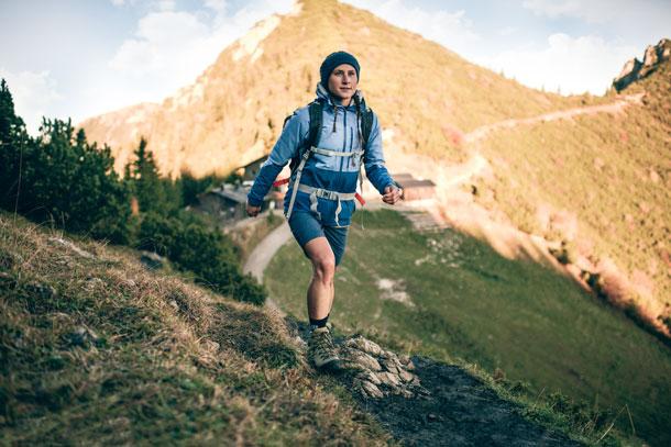 Hiking no blister
