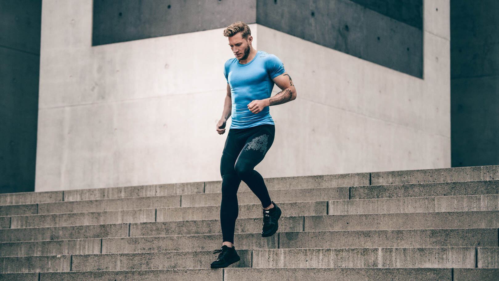 COMPRESSION FOR MUSCLE STABILISATION | Run Tights 3.0