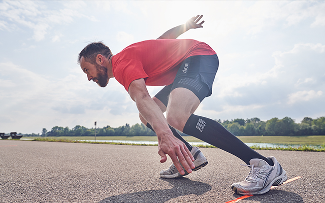 Products for male athletes – ready up for the next sprint