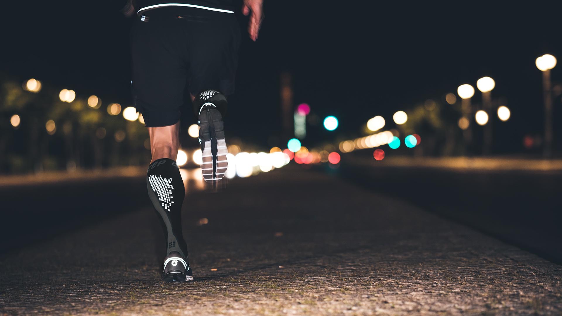 Run Fast – Stay Visible   Nighttech Socks