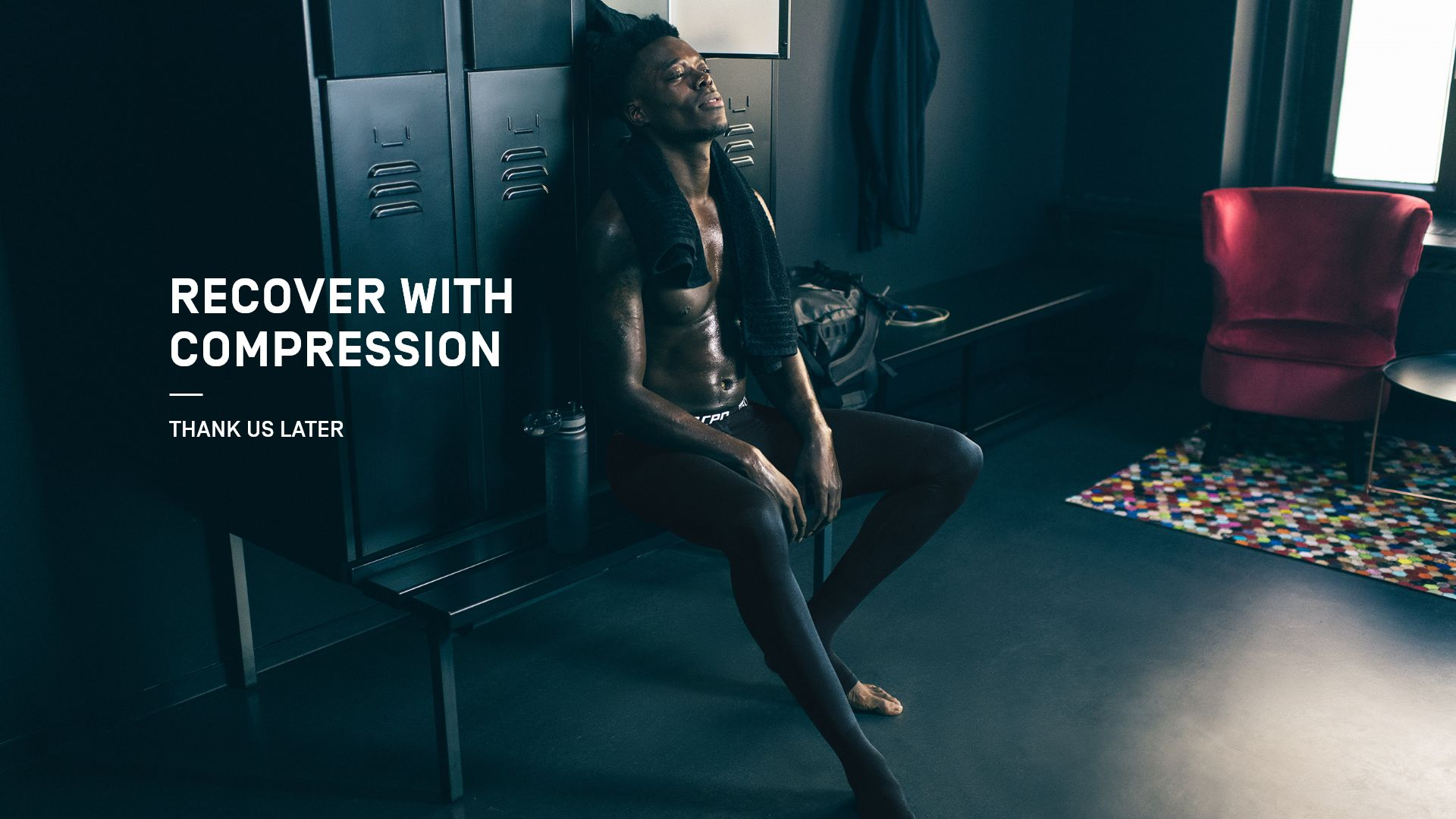 recover with compression