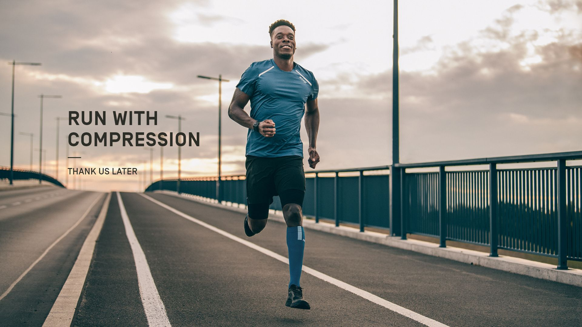 run with compression
