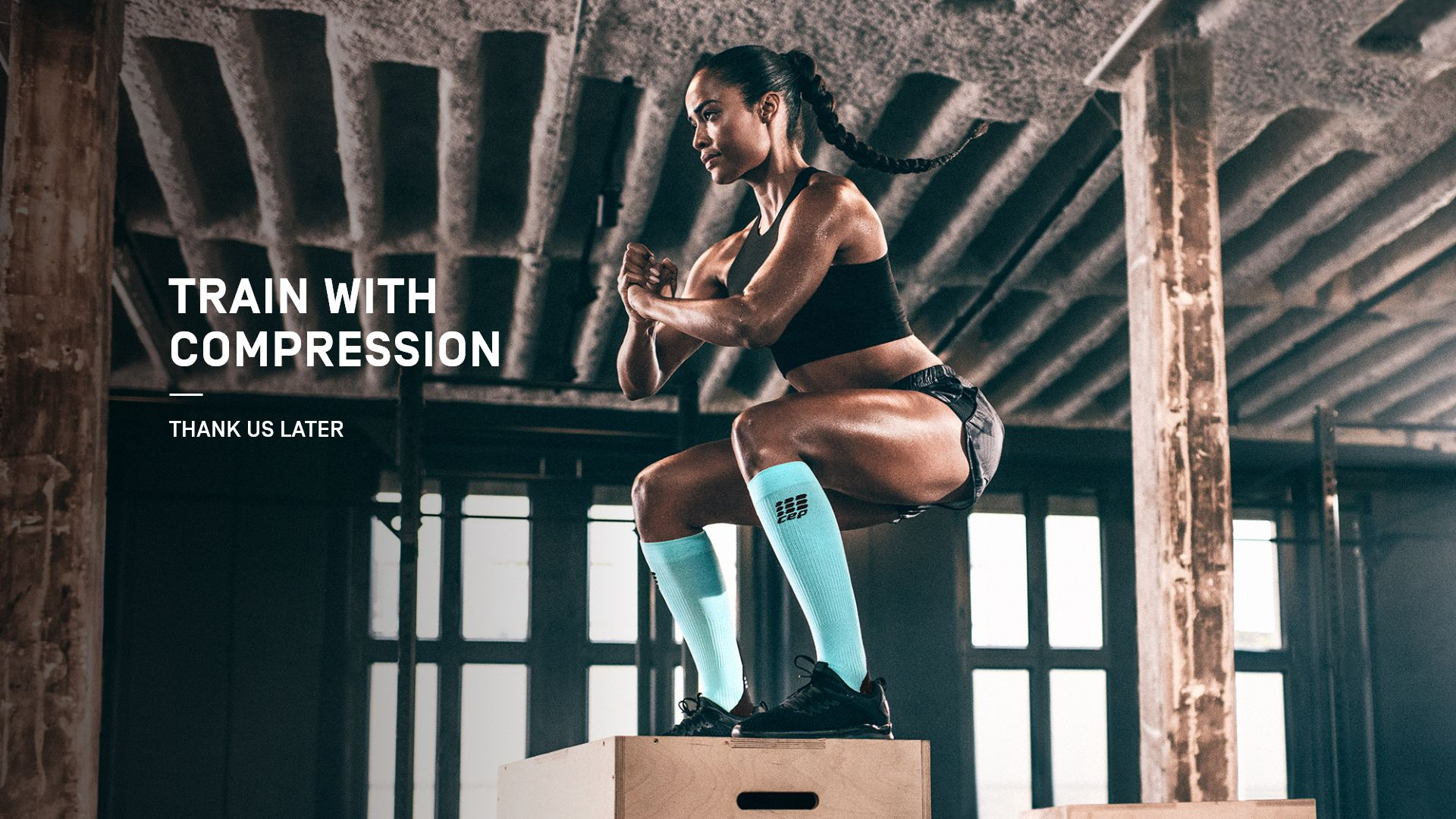 train with compression